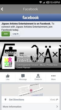 Jigsaw Artistes Entertainment apk screenshot