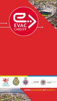EVAC CARDIFF poster