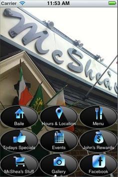 McShea's Restaurant & Pub poster