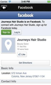 Journeys Hair Studio screenshot 3