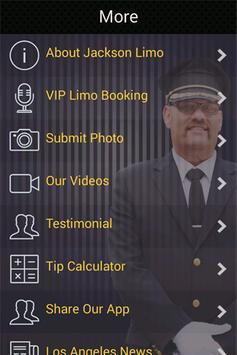 Jackson Limo screenshot 1
