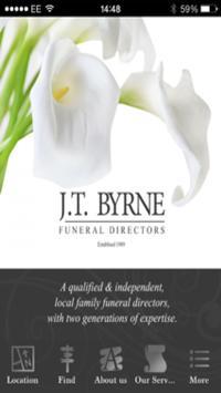 J.T. Byrne Funeral Directors poster