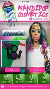 KandiPop Cosmetics poster