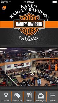 Kane's Harley-Davidson Calgary poster