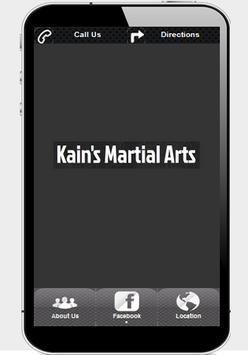 Kain's Martial Arts poster