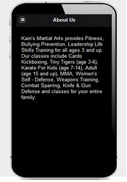 Kain's Martial Arts screenshot 1