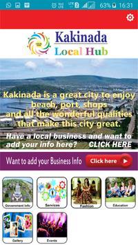 Kakinada LocalHub poster