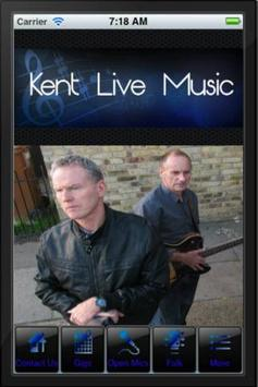 Kent Live Music poster