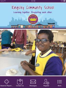 Kingsley Community School apk screenshot