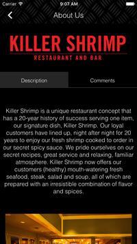 Killer Shrimp apk screenshot