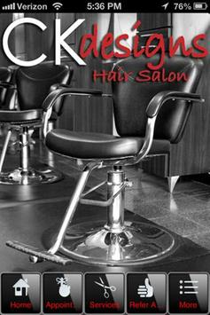 CK Designs Hair Salon poster