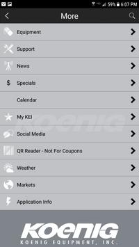 Koenig Equipment apk screenshot