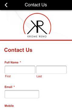 Krome Reno apk screenshot