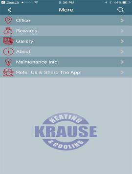Krause Heating & Cooling screenshot 6