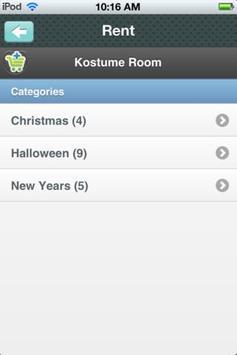 Kostume Room apk screenshot