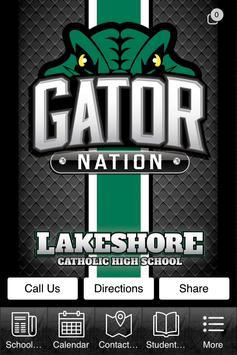 Lakeshore Catholic poster