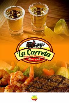 La Carreta Mexican poster