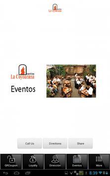 La Coyoacana App apk screenshot