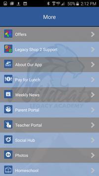 Legacy Academy apk screenshot
