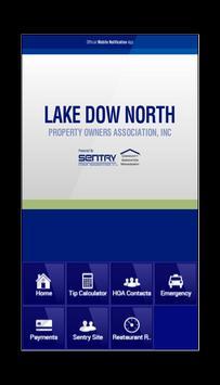 Lake Dow North Property OA poster