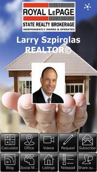 Larry Szpirglas Realtor© poster