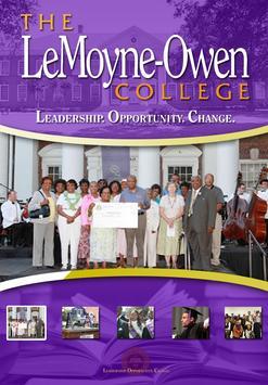 LeMoyne-Owen College Mobile poster