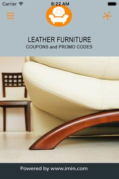 Leather Furniture Coupons-ImIn poster