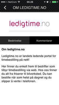 ledigtime.no screenshot 2