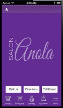 Salon Anola Mobile poster