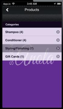 Salon Anola Mobile screenshot 1