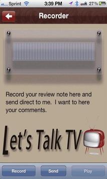 Let's Talk TV screenshot 2