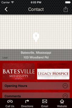 Legacy Hospice Batesville, MS screenshot 1