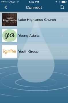 Lake Highlands Church apk screenshot