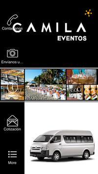Camila Eventos apk screenshot