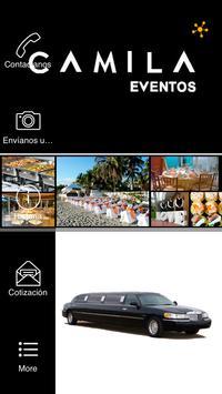 Camila Eventos poster