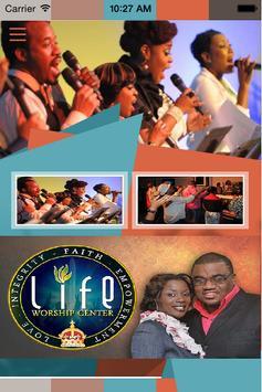 Life Worship Center poster