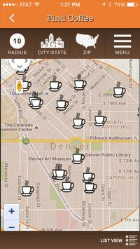 The Local Coffeehouse Guide apk screenshot