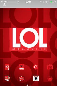 LoL Magazine poster
