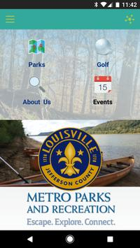 Louisville Metro Parks and Rec poster