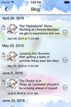 Lifestyle MedSpa apk screenshot
