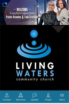 Living Waters Community Church poster