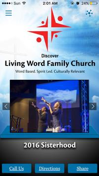 Living Word Family Church poster