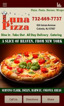 Luna Pizza poster