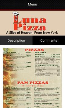 Luna Pizza apk screenshot