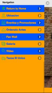 Tacos el Unico apk screenshot