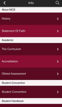 Maranatha Christian School Sw screenshot 1