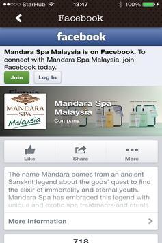 Mandara Spa Kuala Lumpur apk screenshot