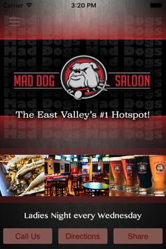 Mad Dog Saloon poster