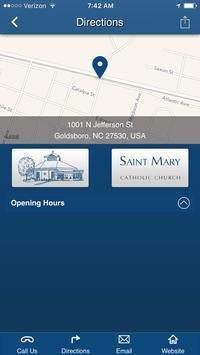 St. Mary Catholic - Goldsboro screenshot 2