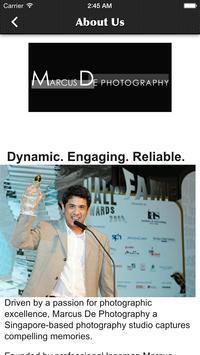Marcus De Photography screenshot 1